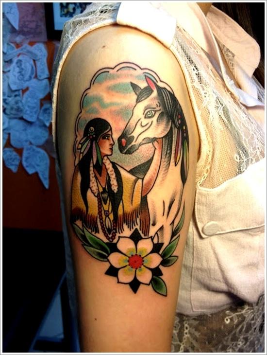design horse tattoo amazing