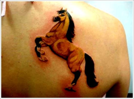 horse tattoo design
