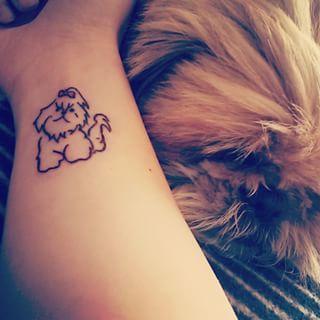 little shih tzu tattoo pics