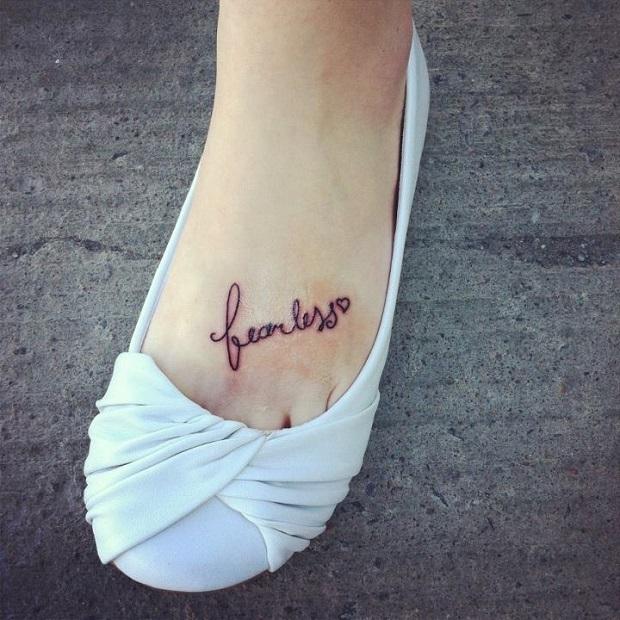 taylor swift fearless pics tattoo
