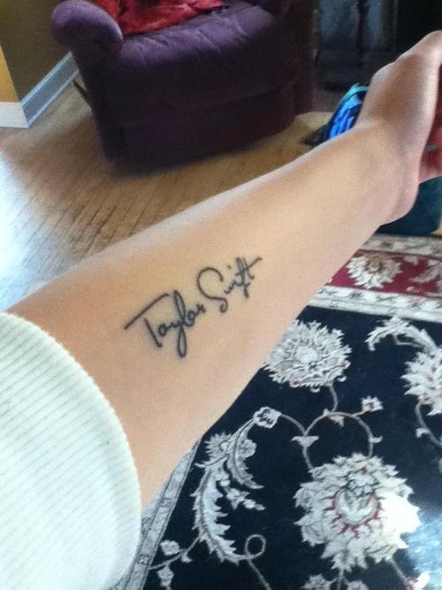 taylor swift pics tattoo arm