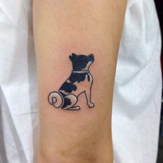 little akita inu tattoo
