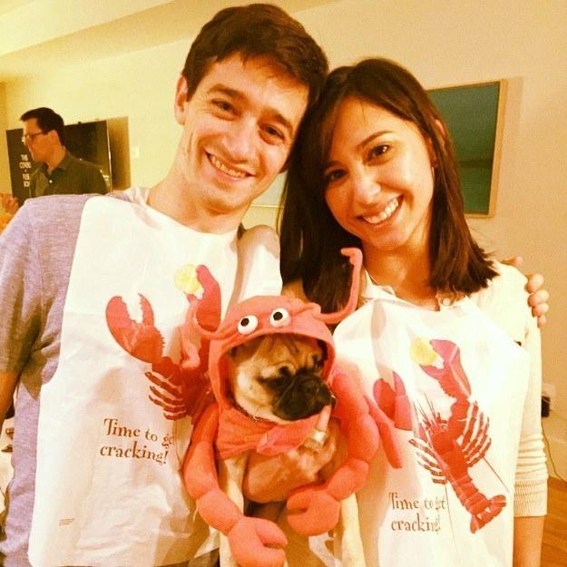 hapless-lobster-man-girl-pug