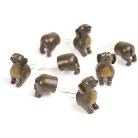 8 piece dog corn holders