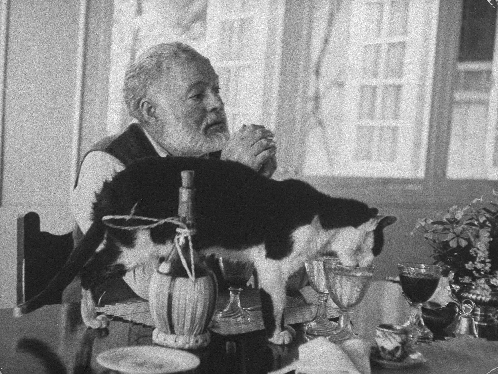 Famous Writers and their Favorite Pets 23