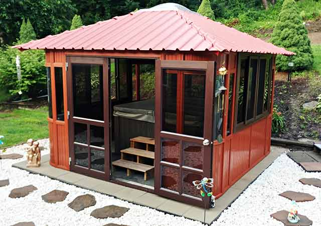 How Pets Can Enjoy Your Home Gazebo 20