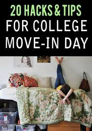 Tips to have an easy dorm move-in day 10
