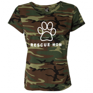 Ethical brand : Shirts For A Cause donates a percentage of all t shirt sales to help rescue dogs and cats.
