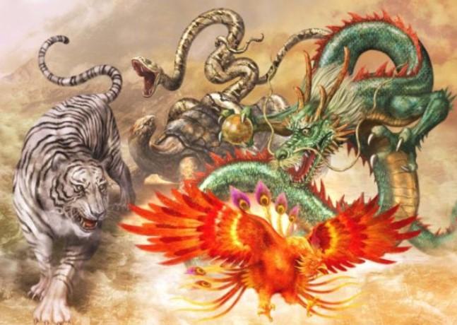 Symbols of China - Animal Totems
