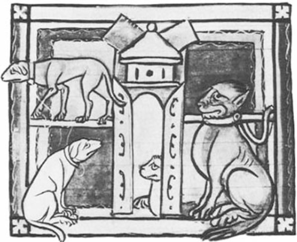 Dogs: Myths Legends of the Middle Ages