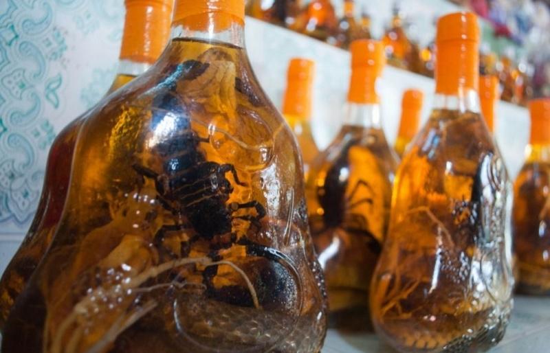 Exotic Drink: Snake Wine 24