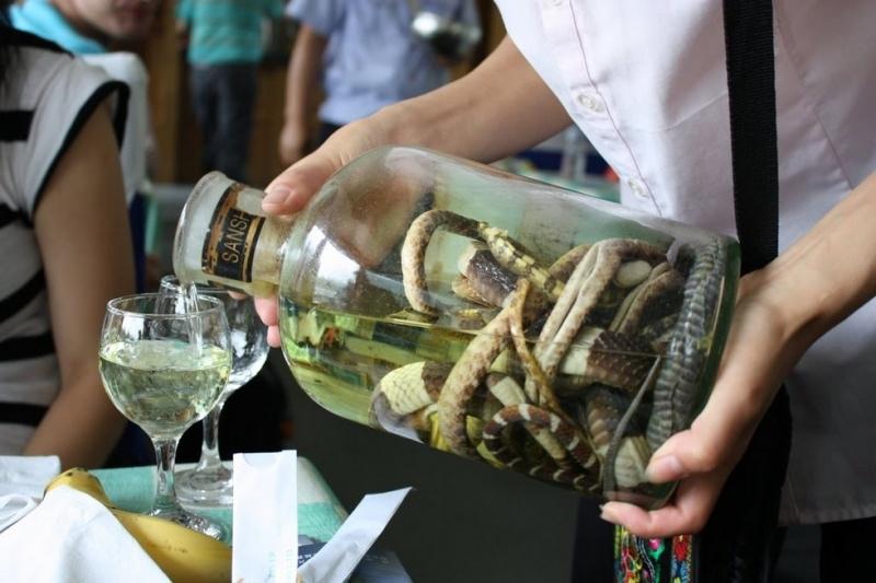 Exotic Drink: Snake Wine 28