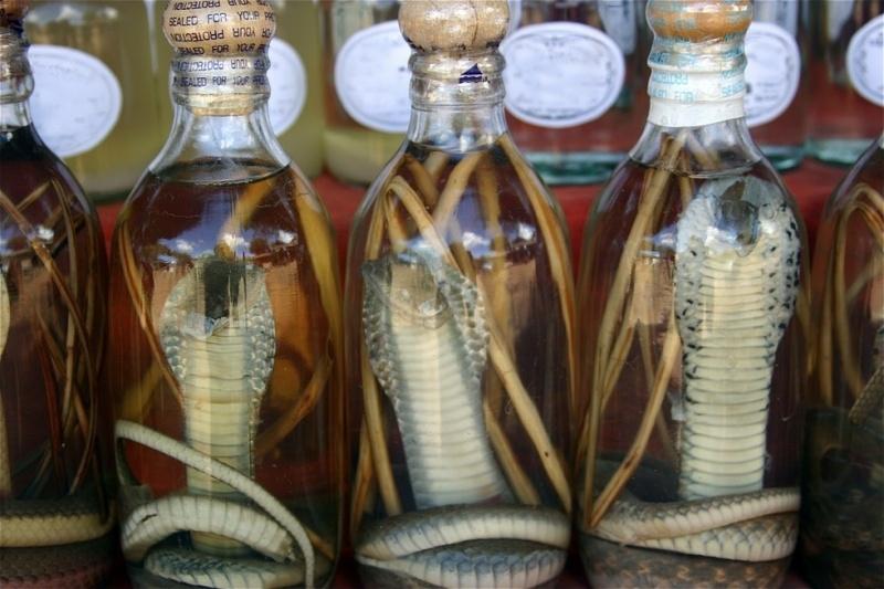 Exotic Drink: Snake Wine 30
